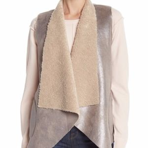 French Connection Arleen Shearling Vest